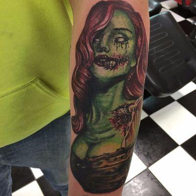 Pin up zumbi por #ZackKamysz #zumbi #zombie #neotrad