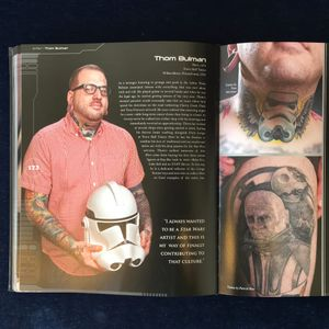 Thom Bulman and some of his Star Wars body art in The Force in the Flesh (IG—bulman_tattoos). #ShaneTurgeon #TheForceintheFlesh #ThomBulman #StarWars