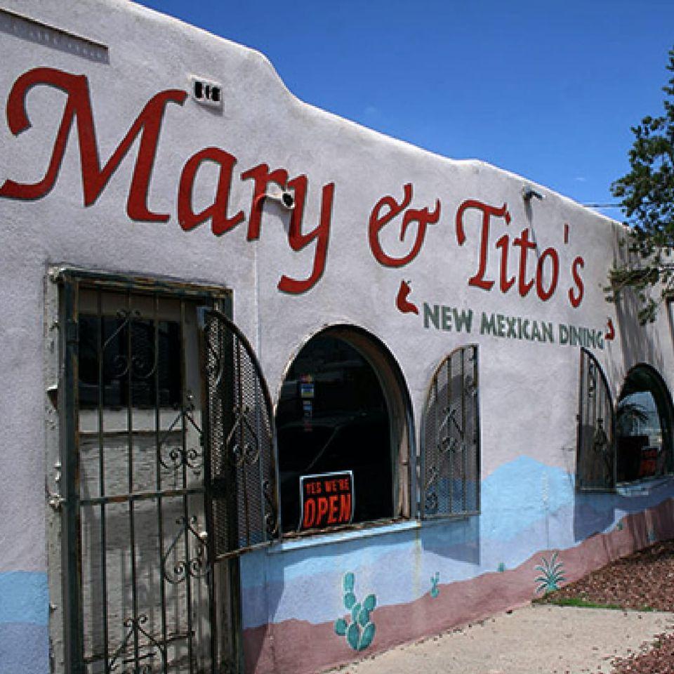 Mary and Tito's award-winning restaurant in Albuquerque, NM. #Albuquerque #NewMexico #tattooculture