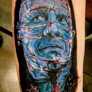 The doctor is in! Tattoo from VIP Tattoo #hellraiser #CliveBarker #cenobite #horror #movie #DrChannard #viptattoo