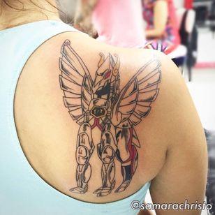 #cavaleirosdozodiaco #pegasus #armadura #anime #SamaraChristo #TatuadorasDoBrasil #TalentoNacional #comics #coloridas #colorful #brasil