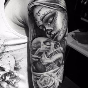 #caveira #skull #JuniorInked #realismo #ElectricInk #brasil #portugues