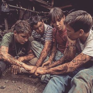 The new Stand By Me is about how they were all way too young to have so many tattoos. Stand By Me. (via IG—indiangiver) #Movies #CheyenneRandall #StandByMe