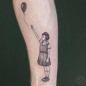 Letting go. (via IG - svenrayen) #TinyPeople #SmallPeople #Balloons #SvenRayen