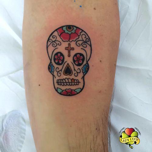 #caveira #skull #colorida #delicada