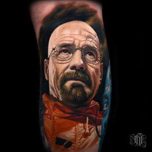 Walter White de Breaking Bad #NikkoHurtado #gringo #realismo #realism #realismocolorido #walterwhite #breakingbad #bryancranston #serie #tvshow #nerd #geek #portrait #retrato