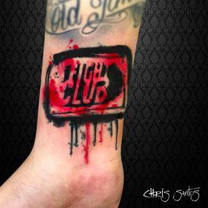 Por Chris Santos! #ChrisSantos #FightClub #clubedaluta #TatuadoresBrasileiros #DavidFincher