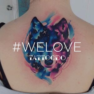 Don't forget to use the hashtag #welove and get featured! #inspiration #tattoodo #watercolor #welove