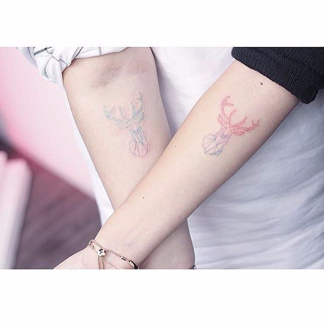 Gradient tattoo by Mini Lau. #MiniLau #gradient #hue #color #mix #swatch #art