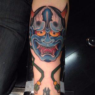 Hannya Tattoo by Damien Rodriguez #Japanesetattoo #Japanese #AsianTattoos #DamienRodriguez