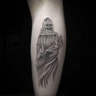 Badass reaper by Danny Orellana. (Via IG -doesntmatter______)