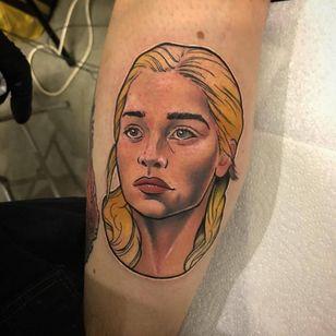 Daenerys in her more innocent days. (Via IG - bren3000)