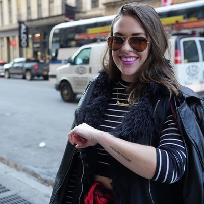 Leah S. (photo by Alex Wikoff) #nyc #people #stories #meaningfultattoos
