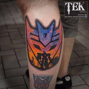 #WojcechTaczala #TekTattoo #Transformers #transformerstattoo #optimusprime #bumblebee #autobots #decepticons #megatron