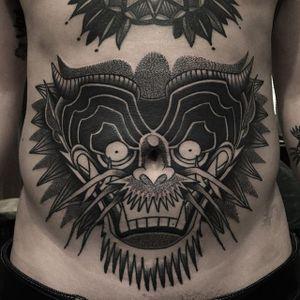 Dragon Tattoo by Cuba Tattoo #dragon #dragontattoo #blackwork #blackworktattoo #blackworktattoos #blackink #blackinktattoo #blacktattoos #blackworker #CubaTattoo