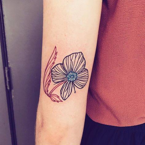 Uma flor #CapitainePlum #gringa #illustração #illustration #ludico #playful #flor #flower #botanical #botanica