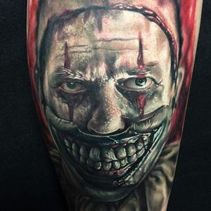 Twisty Tattoo by Ben Kaye #twisty #realism #colorrealism #portrait #BenKaye