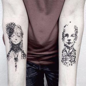 Tattoos por Guga Scharf! #GugaScharf #tatuadoresbrasileiros #tatuadoresdobrasil #tattoobr #Curitiba #blackwork