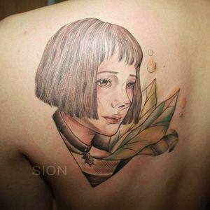 Korean Mathilda by Sion#Korean #Mathilda #Leon #LeonTheProfessional #portrait #Sion