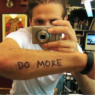 Casey Neistat's tattoos are a constant reminder to work harder #tattooedyoutuber #YouTuber #CaseyNeistat