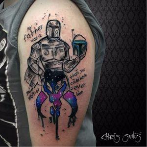 #ChrisSantos #starwars #tatuadoresdobrasil #nerd #geek #filmes #movies