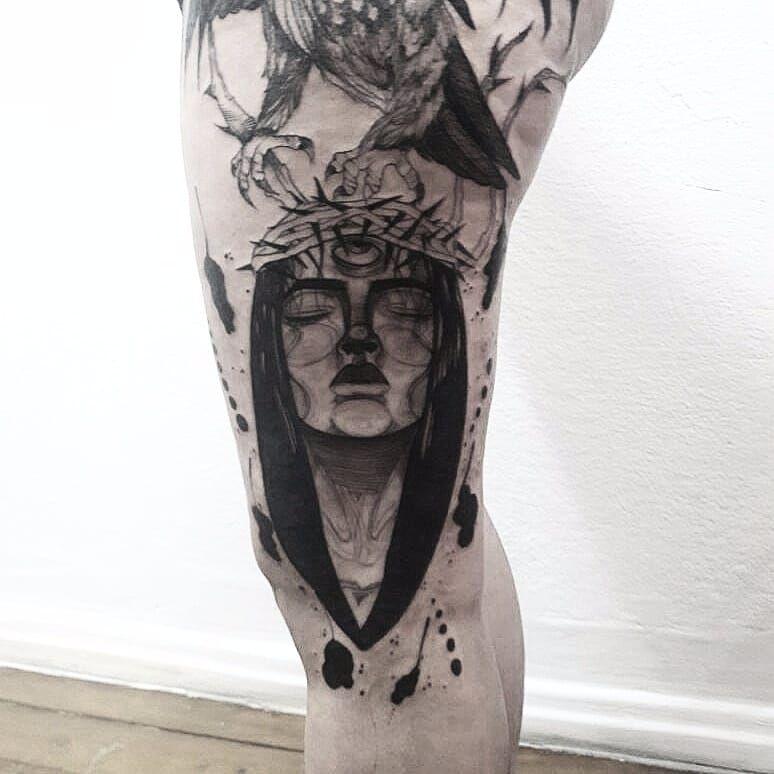Tattoo por Wesley Maik! #WesleyMaik #Tatuadoresbrasileiros #tatuadoresdobrasil #tattoobr #tattoodobr #SãoPaulo #blackwork