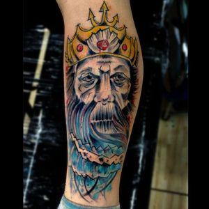 #coroa #crown #ChrisSantos #TatuadoresDoBrasil #aquarela #watercolor #coloridas #colorful #brasil