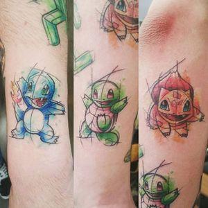 Pokemon Tattoo by Loreen2l #pokemon #pokemontattoo #watercolorpokemon #watercolor #watercolortattoo #sketch #sketchtattoo #watercolorsketch #sketchwatercolor #abstractwatercolor #Loreen2L