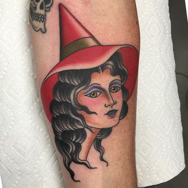 Witchy woman via @deandenney #DeanDenney #traditional #spooky