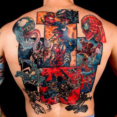 #PabloLevelUpTattooStudio #SpiderMan #HomemAranha #Homecoming #Marvel #PeterParker #comics #nerd #filmes #movies
