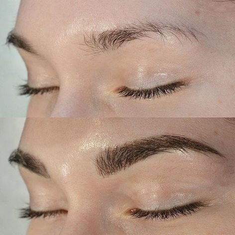 Eyebrow microblading, Image Source: Shaughnessy Keely #cosmetics #eyebrows #Microblading #consmetictattooing