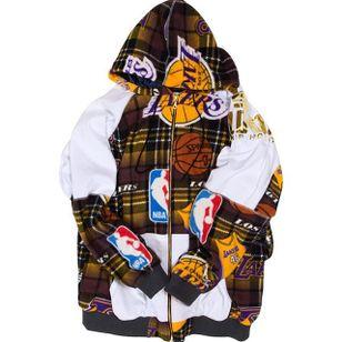 Custom Lakers Hoodie by Dr. Romanelli (via IG-drxromanelli) #fashion #levis #vintage #tattooinspired #drromanelli #mattmccormick