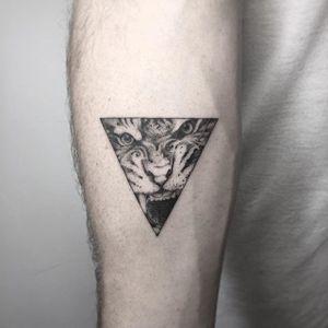 Tiger Tattoo by Nathan Kostechko #tiger #tigertattoo #blackandgreytiger #blackandgrey #blackandgreytattoo #blackandgreytattoos #fineline #finelinetattoo #blackwork #detailed #NathanKostechko