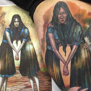 Two become one. (via IG - tattooandy) #EsaoAndrews #EsaoAndrewsTattoo