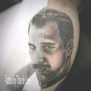 #TjitseDeVries #FreddieMercury #Queen #homenagem #realismopretoecinza #realismo #realism #blackandgrey