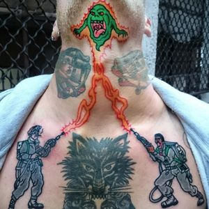 Print this out, slam a few Ecto-Coolers, and head down to your nearest tattoo shop. #neck #necktattoo