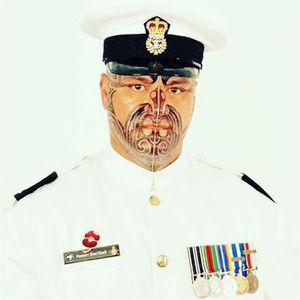 Foto oficial da Marinha. #Tamoko #tamokotattoo #maori #maoritattoo #facemaori