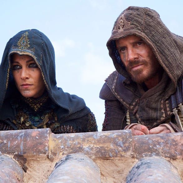 Many of the assassins in Assassin's Creed will have facial tattoos. #AssassinsCreed #MichaelFassbender #Hollywood #Movies