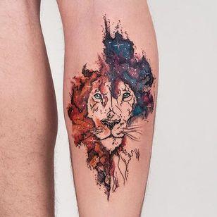 Leão #RobsonCarvalho #brazilianartist #brasil #brazil #tatuadoresdobrasil #ilustrtação #illustration #sketchstyle #estilorascunho #watercolor #aquarela #leao #lion #animal