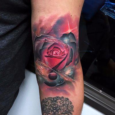 #AndresAcosta #tatuadorgringo #realismo #realism #coloridas #colorful #galaxia #galaxy #universo #universe #planetas #planets #estrelas #stars