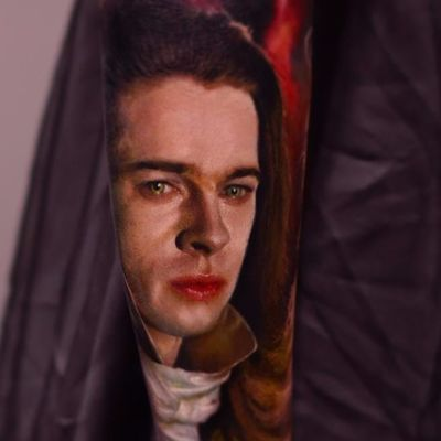 Louis de Pointe du Lac by Karol Rybakowski #KarolRybakowski #realism #realistic #hyperrealism #color #portrait #Louis #interviewwithavampire #movietattoo #bradpitt #vampire #movie #undead #actor #tattoooftheday