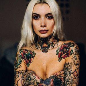 Valentina Bellezza by Andre Josselin (via IG-valentinabellezza) #model #tattooedmodel #alternativemodel #wcw #valentinabelleza