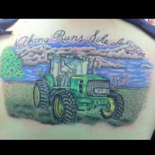 John Deere tractor (via IG -- jennkoss425)