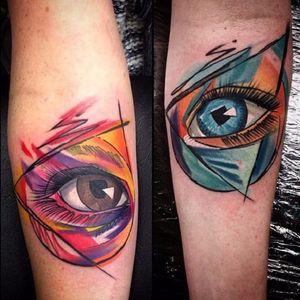 #Szabi #olhoquetudove #allseeingeye #eyetahtseeall #olhodaprovidencia #coloridas #colorful