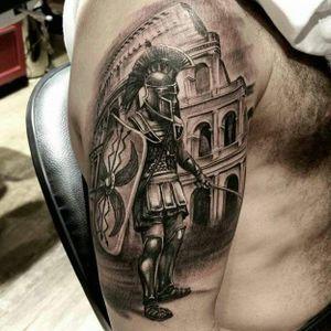 #guerreiro #warrior #JuniorInked #realismo #ElectricInk #brasil #portugues
