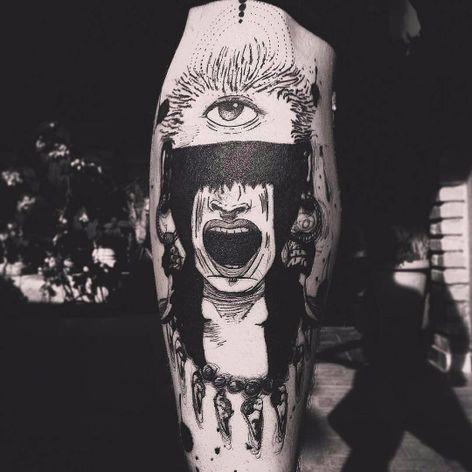 Tatuagem feita por Wesley Maik! #WesleyMaik #Tatuadoresbrasileiros #tatuadoresdobrasil #tattoobr #tattoodobr #SãoPaulo #blackwork