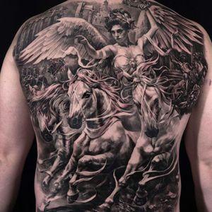 Archangel by Carlos Torres (via IG-carlostorresart) #realism #surrealism #blackandgrey #carlostorres