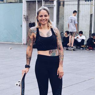 Fernanda, Instagram @fernanda1843 #TattooStreetStyle #StreetStyle