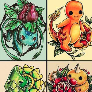 Illustrations by Jazmin Castillo. #Pokemon #JazminCastillo #illustrator #illustrations #traditionalart #videogames