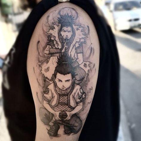 #ViniciusScalfone #brasil #brazil #brazilianartist #tatuadoresdobrasil #sketch #aquarela #watercolor #naruto #shikamaru #nerd #geek #anime #animação #desenho #blackwork